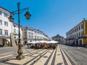 Évora - náměstí Giraldo