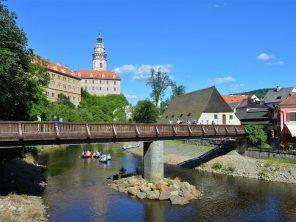 Český Krumlov a Vltava