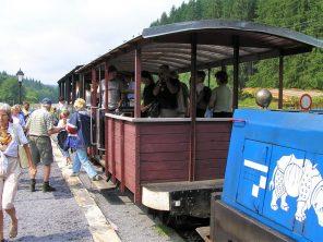 Čiernohorská lesní železnička