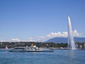 Ženeva a Ženevské jezero