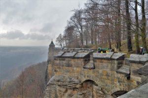 Hradby pevnosti Königstein