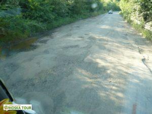 Stav silnice do Rachova