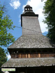 Dřevěný kostel sv. Ducha v Koločavě