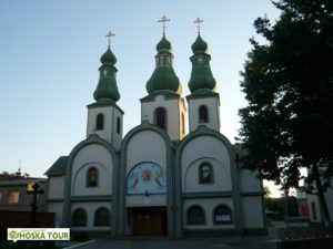 Pravoslavný kostel v Mukačevu
