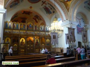 Interiér řecko-katolického kostela