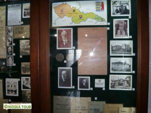Výstava věnovaná historii Podkarpatské Rusi