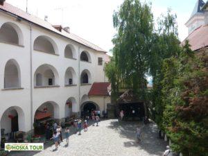 Palác na hradě Palanok