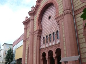 Bývalá židovská synagoga v Užhorodě