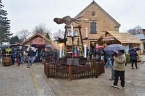 Historický trh na pevnosti Königstein