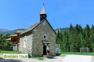 Kaple v Dolomitech