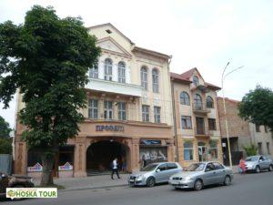 Dům, kde sídlí Klub T.G.Masaryka v Užhorodě