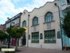 Secesní budova banky v Michalovcích