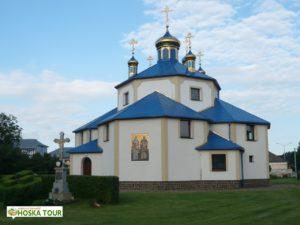 Nový pravoslavný kostel v Michalovcích