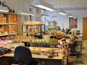 16. Výroba dřevěných hraček v Seiffenu