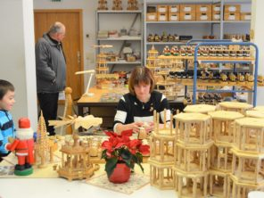 18. Výroba dřevěných hraček v Seiffenu
