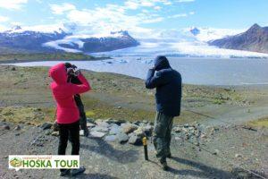 Ledovcové jezero Fjallsárlón