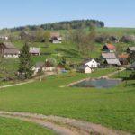 Dolní Javoří - Malá obec nedaleko Lázně Bělohradu
