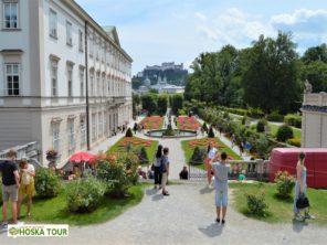 Zahradami až na pevnost Hohensalzburg