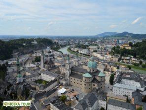 Historické jádro města Salzburg