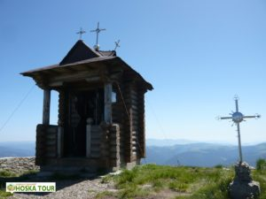 Kaplička na vrcholu Pop Ivan Černohorský