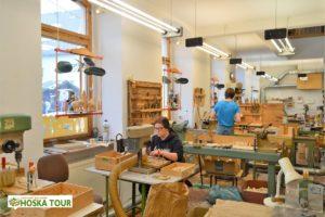 Tradiční výroba dřevěných hraček