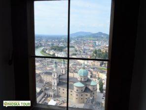 Salzburger Dom a historické jádro města