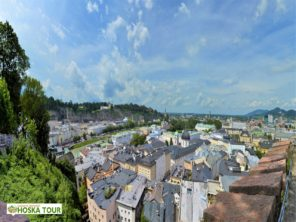 Panorama města Salzburg