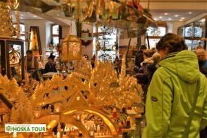 Prodejna vánočních dekorací