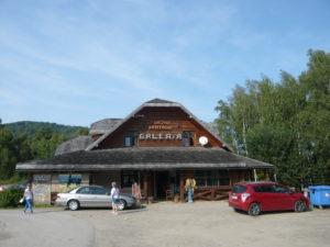 galerie a restaurace v Przysłupu