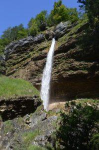 Majestátní vodopád Peričnik