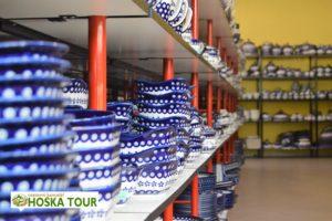 Prodejna výrobků keramičky Boleslawiec
