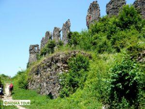 Zřícenina hradu Chust