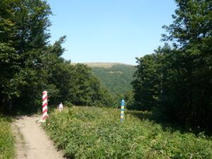 cesta po polsko-ukrajinské hranici