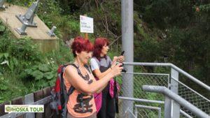 Stezka podél vodopádu Stuibenfall