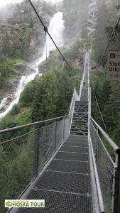 Stezka k vodopádu Stuibenfall