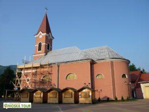 Římsko-katolický kostel v Rachově