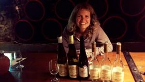 U sklenky tokajského vína