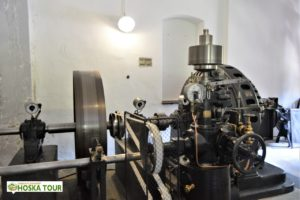 Historická vodní elektrárna Čeňkova pila