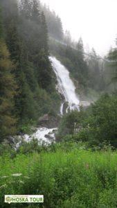 Podél vodopádu Stuibenfall