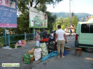 Běžný prodej na ulici - trh