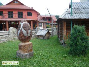 Malé národopisné muzeum v obci Bohdan