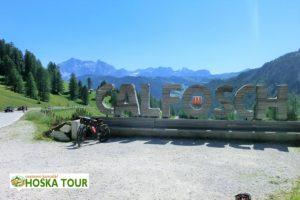 Na okraji vesničky Calfosco