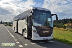 Náš autobus na Horské Kvildě