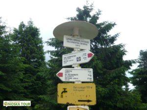 Turistické značení, které má počátky v ČSR