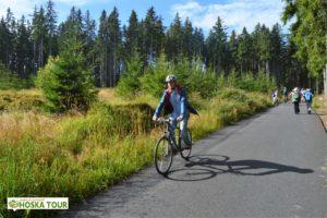 Cyklista na trase