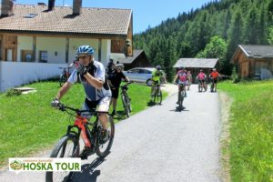 Cyklistika v údolí Val Badia
