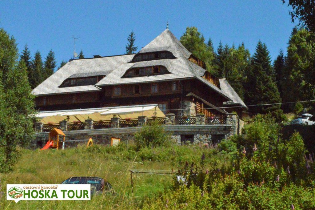 Modrava - Klostermannova chata