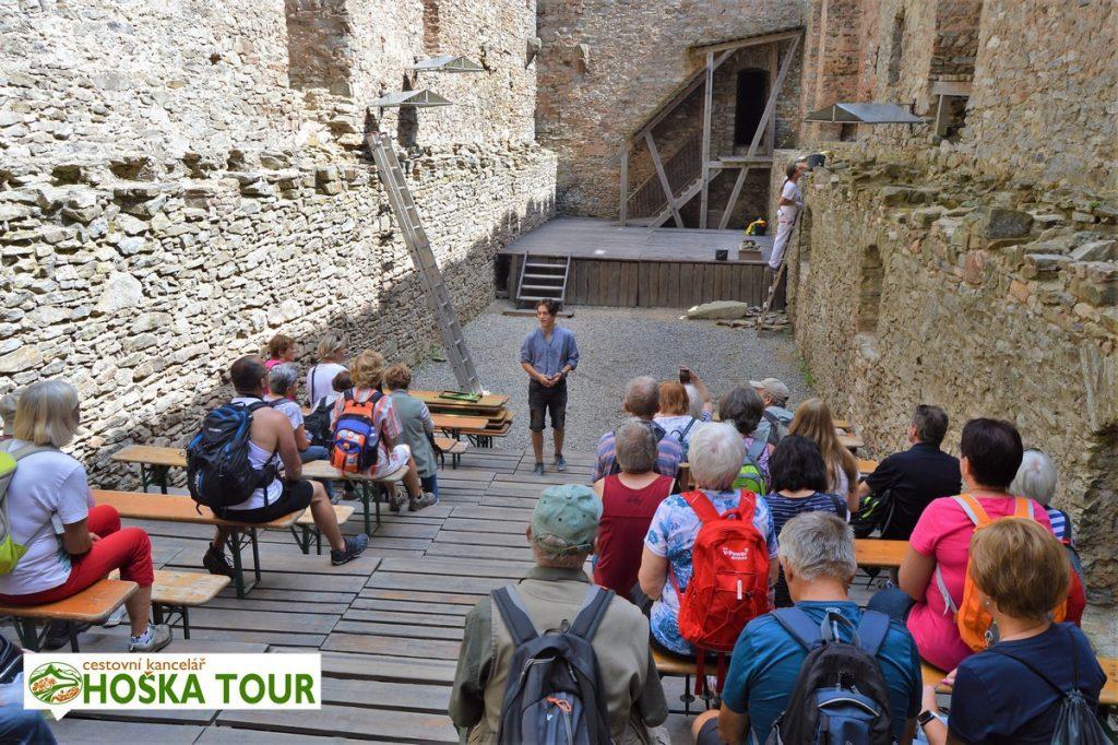 Prohlídka hradu Kašperk s průvodcem