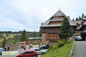 Klostermannova chata na Modravě