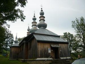 pravoslavný kostel v Turzańsk